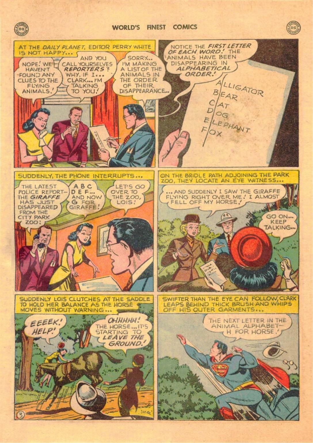 Read online World's Finest Comics comic -  Issue #42 - 5