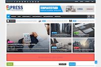 Template blogger Bpress News Magazine