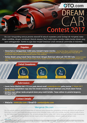 Lomba Desain OTO Dream Car Contest 2017 by Oto.com