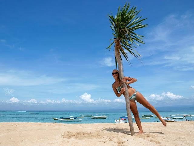 Nusa Lembongan - rajskie plaże nieopodal Bali