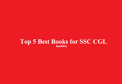 Top 5 Best Books for SSC CGL