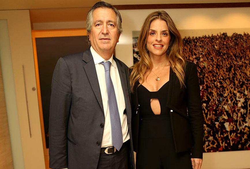 Jorge Vergara y Rossana Lerdo de Tejada.