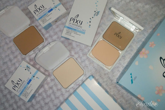 Pixy UV Whitening Two Way Cake
