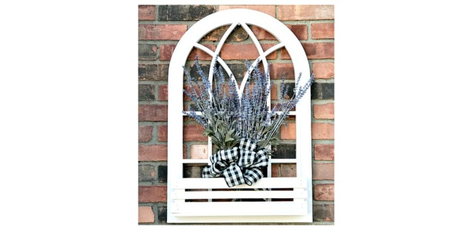 Arched window planter