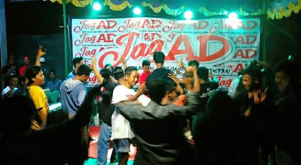 Peresmian Gatot Center, Relawan JAGAD Gelar Pesta Rakyat