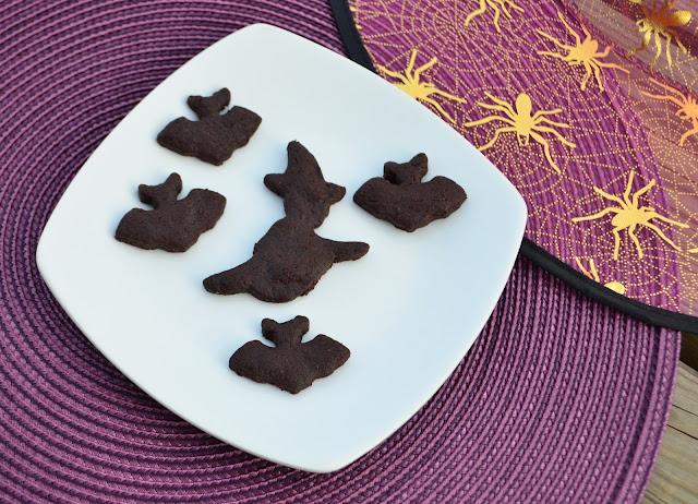 Sablés ultra chocolat {pour Halloween}