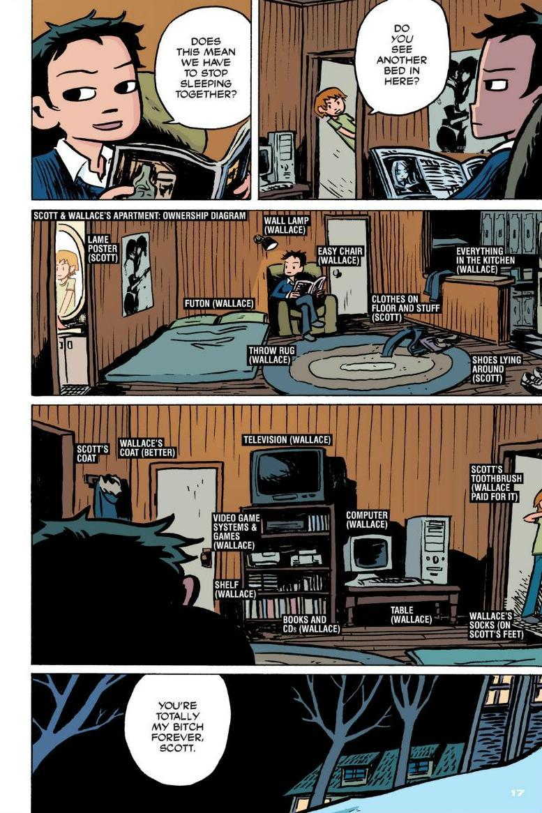Read online Scott Pilgrim comic -  Issue #1 - 12