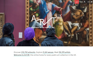 Art UK homepage