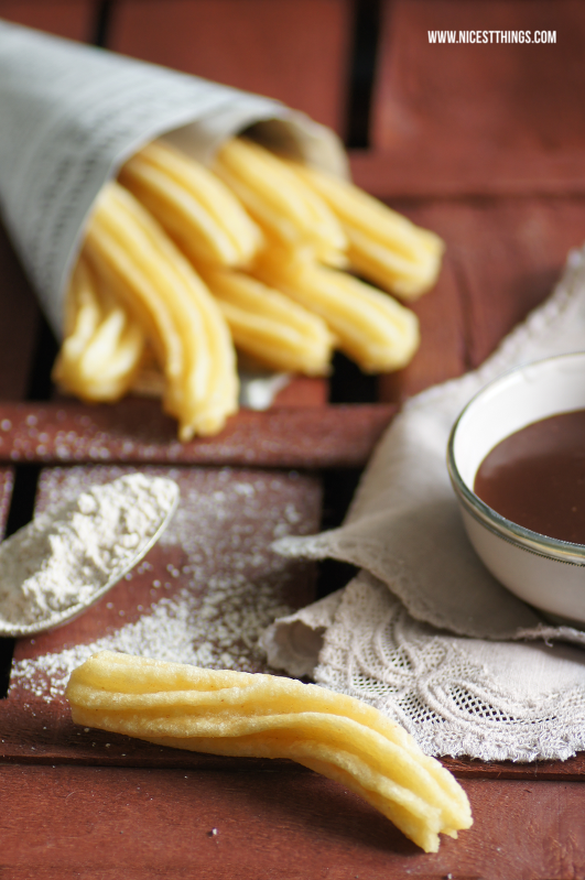 Churros Con Chocolate Original Rezept
