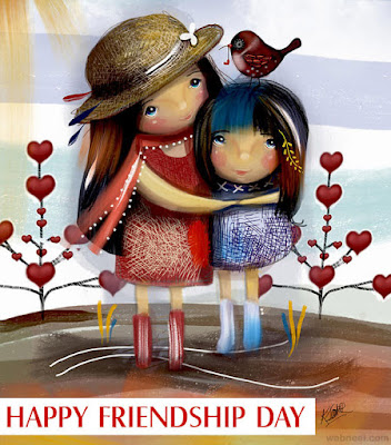 friendship day painting