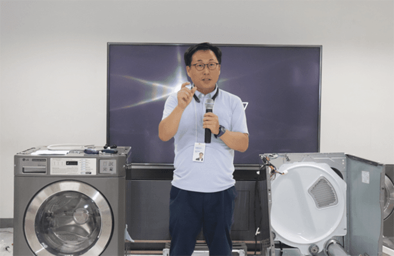 LG Philippines holds extensive training program for its Commercial Laundry line