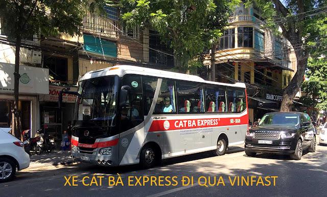 Xe đi Vinfast từ Hà Nội