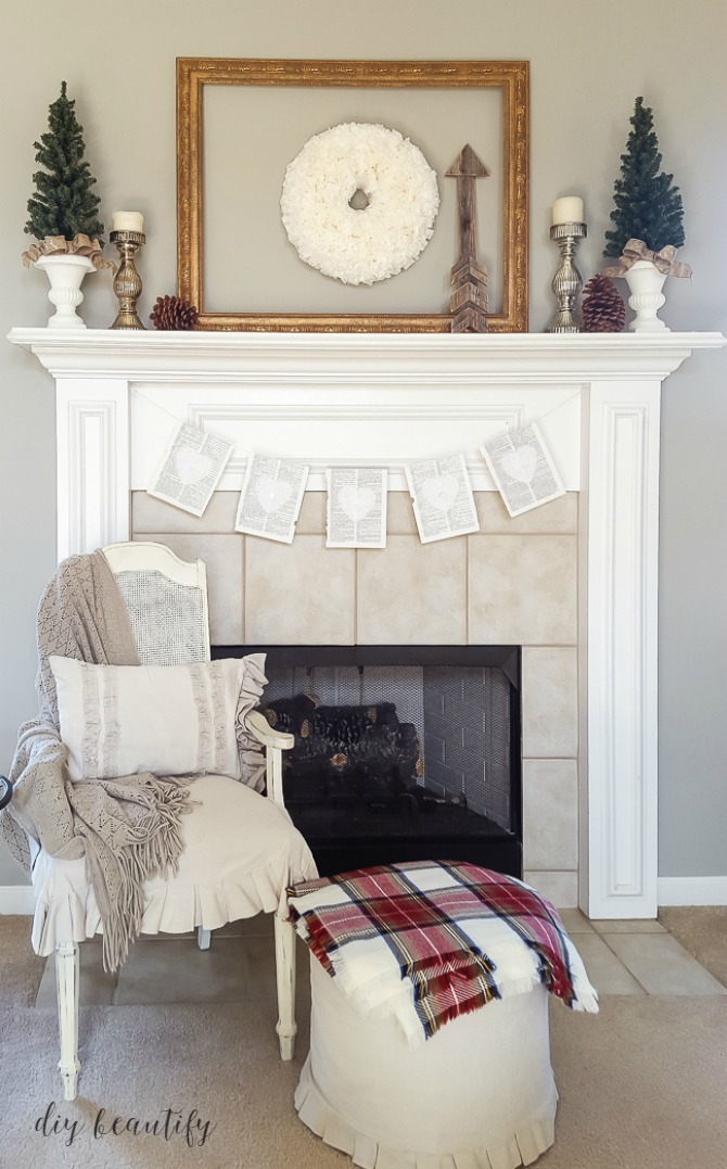 Don't let Winter get you down! I'm sharing my tips for creating cozy decor that will get you through the bleak winter months! Find tips and ideas at diy beautify!