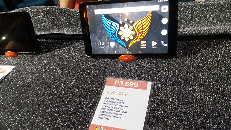t know even in addition to thus if this tablet is already out inwards the marketplace MyPhone MyT5 DTV Is Priced At PHP 3699!