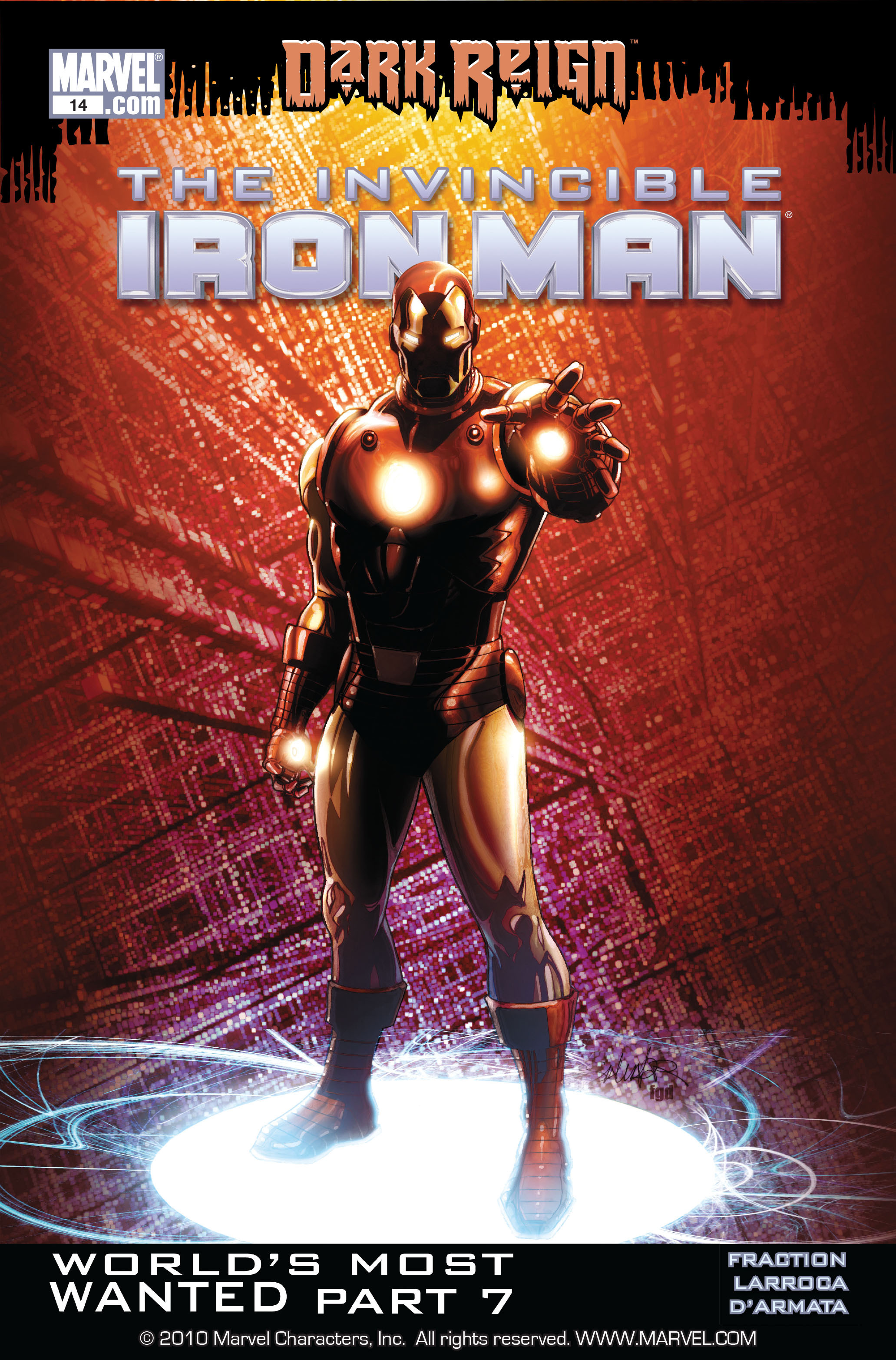 Invincible Iron Man (2008) 14 Page 1