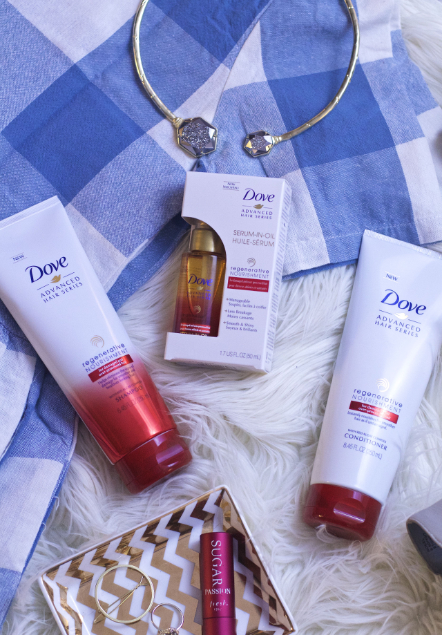 new dove regenerative nourishment products