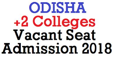 Odisha +2 Vacant Seat Admission 2018 date released @ samsodisha.gov.in