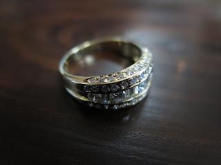 ダイヤモンド 計1.36ct K18 リング 中古 #13