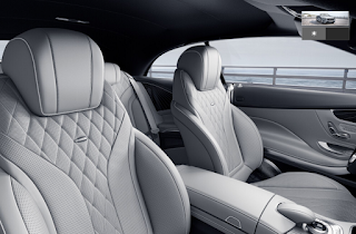 Nội thất Mercedes S500 Cabriolet 2019 màu Xám Crystal 978