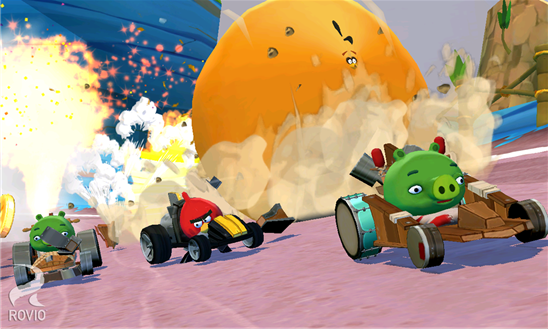 Show Me How: Finally Angry Birds Go! Game Is Available For