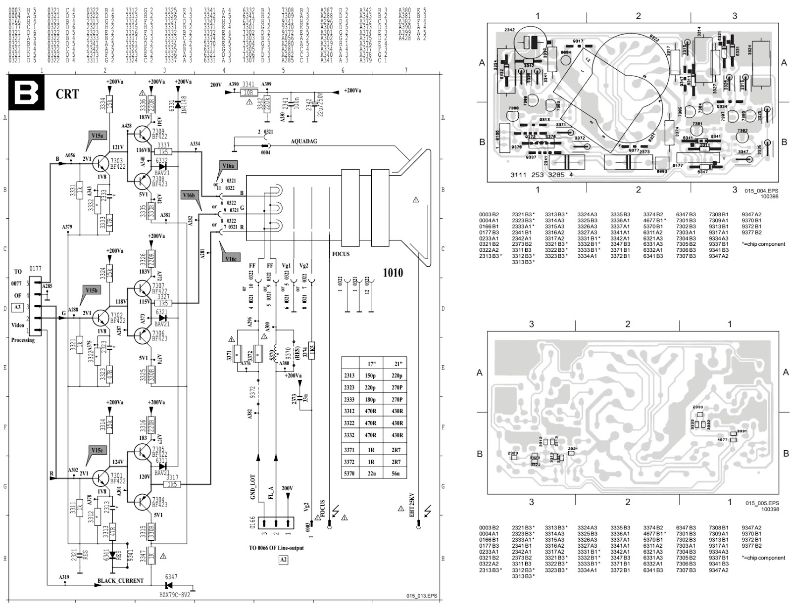 Schematic Diagrams Philips 21pt Crttv Circuit Diagram