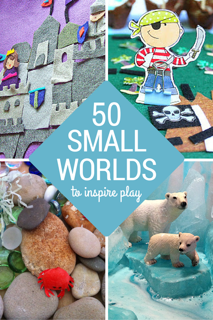 50+ Small Worlds to Invite Play | you clever monkey