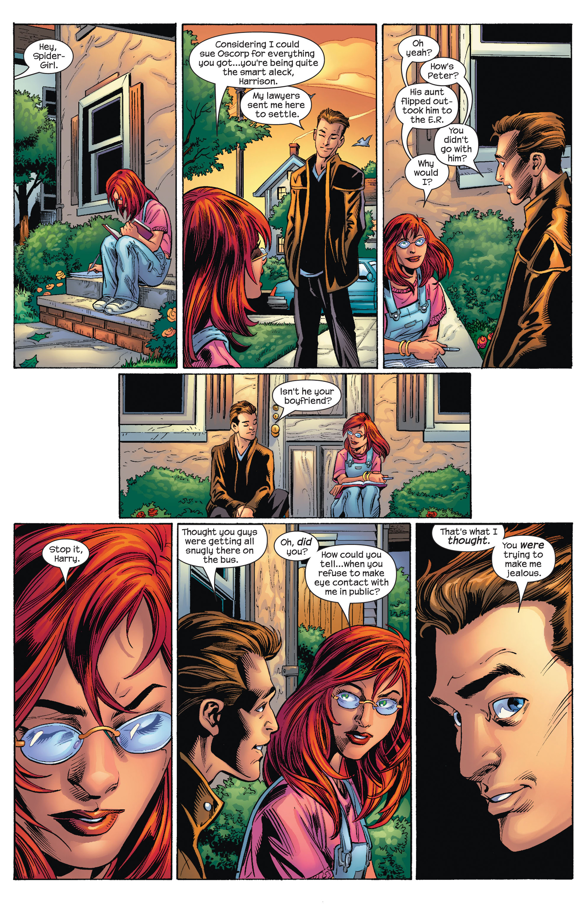 Read online Ultimate Spider-Man (2000) comic -  Issue #72 - 6