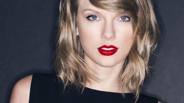 Taylor Swift wanita tercantik di dunia tahun 2015