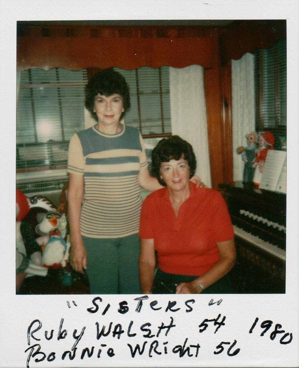 dfa8c8674ca2f1 Sisters  Bonnie   Ruby