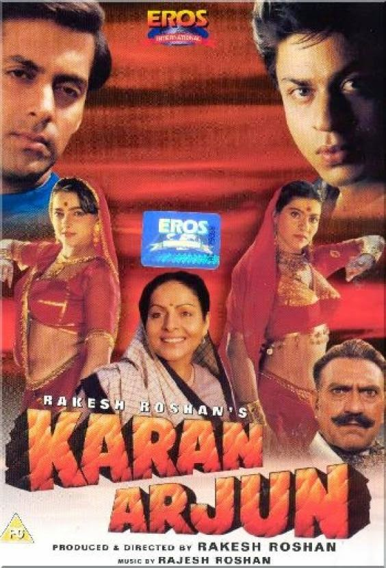 Karan Arjun 1995 Hindi 720p DVDRip 1GB