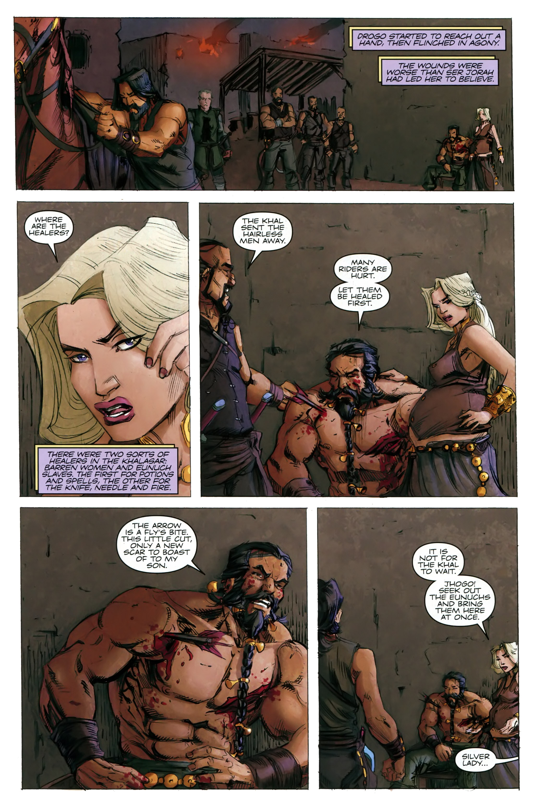 Read online A Game Of Thrones comic -  Issue #20 - 14