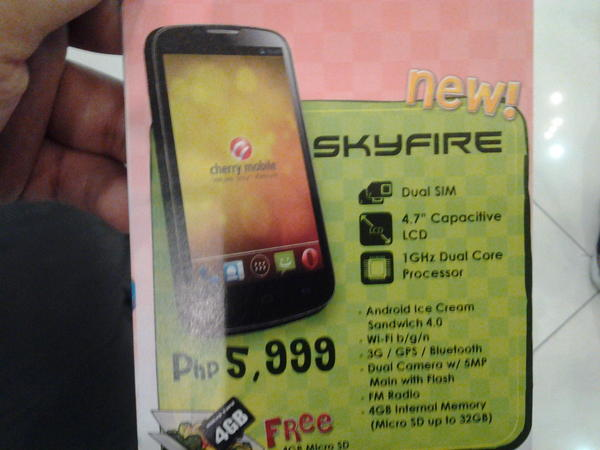 Cherry Mobile SKYFIRE Flyer