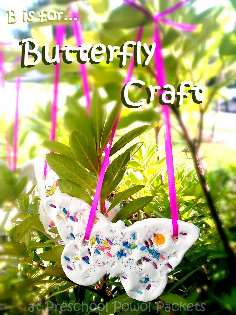 13 butterfly crafts easy awesome preschool powol for Butterfly art and craft
