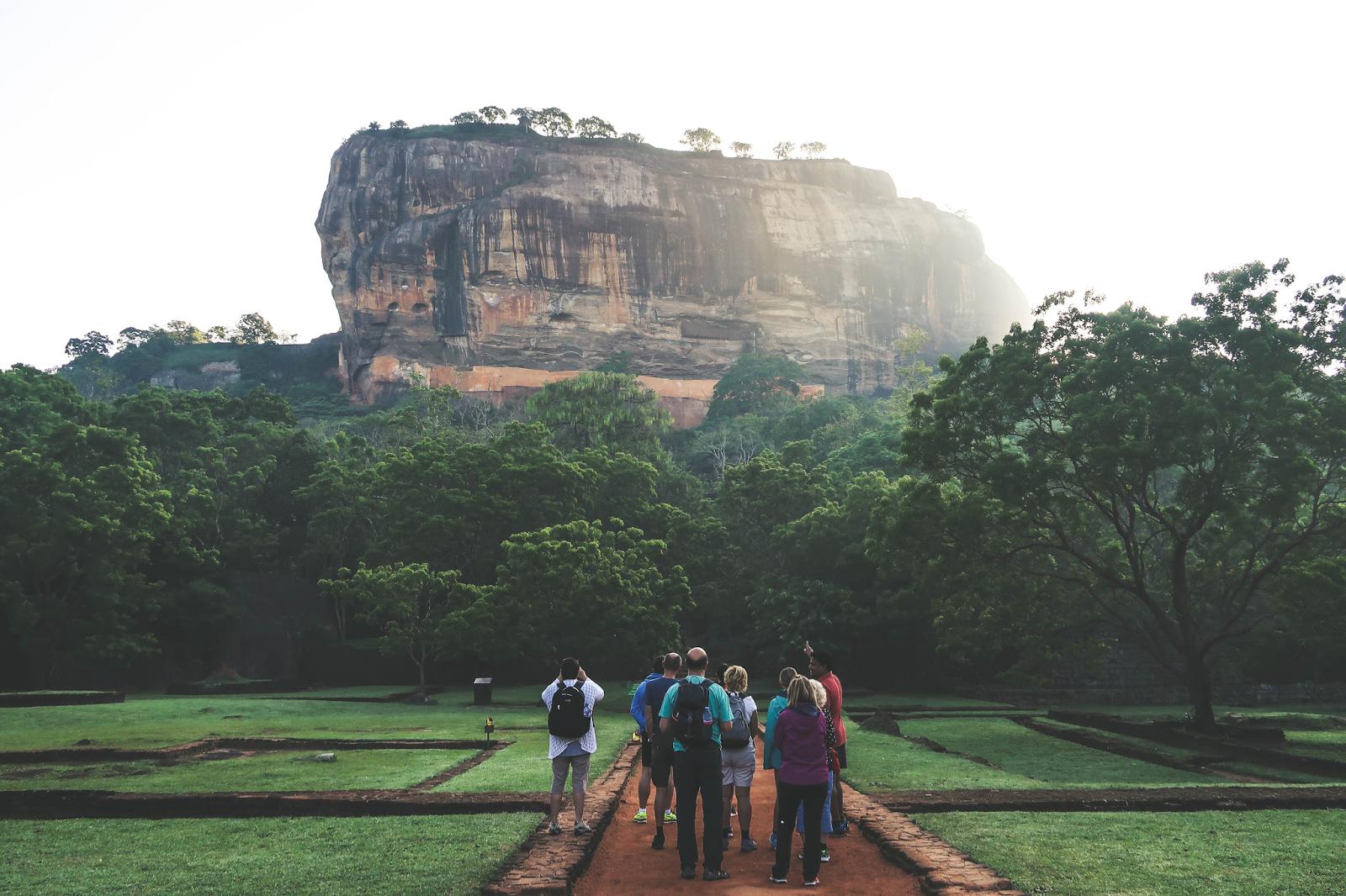 Sri Lanka Climbing the Lion Rock