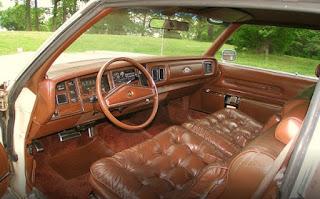 1976 Chrysler New Yorker Brougham Interior
