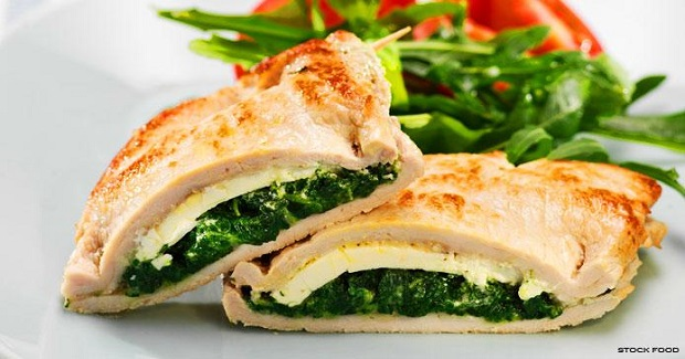 Pork Stuffed With Spinach And Sheep's Cheese Recipe