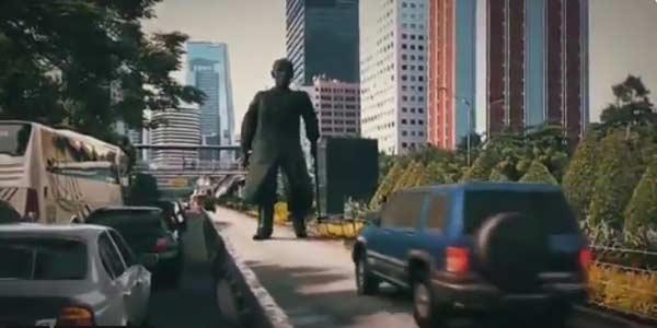 Viral Video Patung Jenderal Sudirman Bergerak?