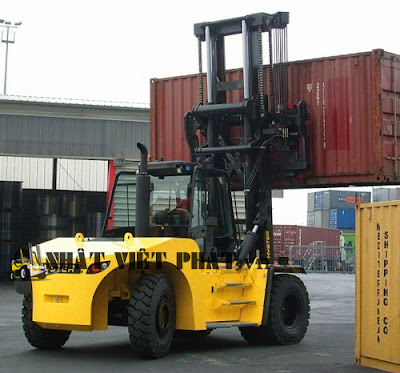 Xe nâng Container Hyster
