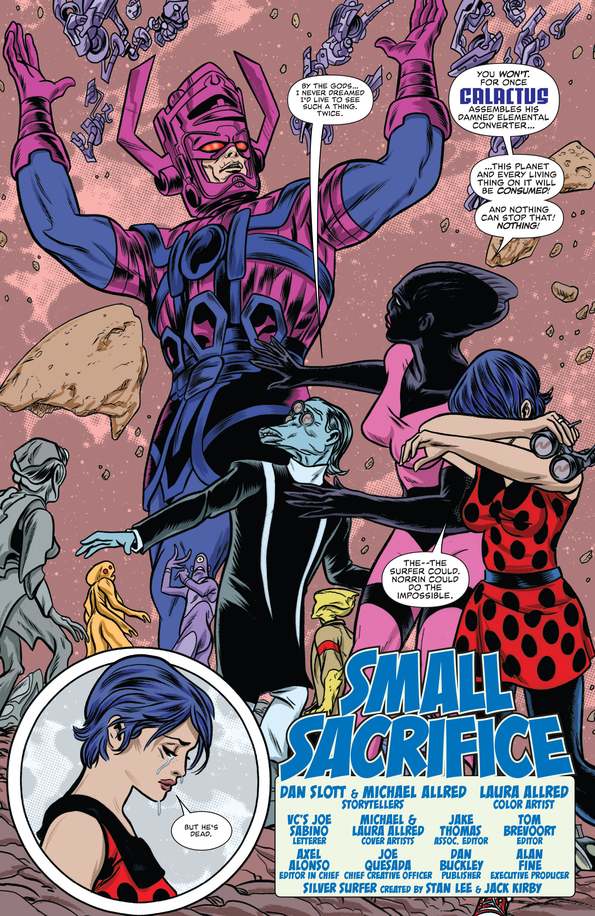 Read online Silver Surfer (2014) comic -  Issue #10 - 3