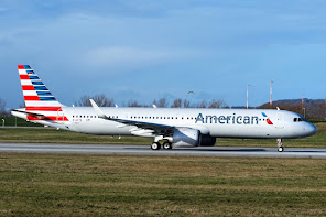 1st A321Neo for American AL
