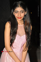 Actress Nidhisha Reddy Pos in Beautiful Pink Dress at Virus Telugu Movie Audio Launch .COM 0020.JPG