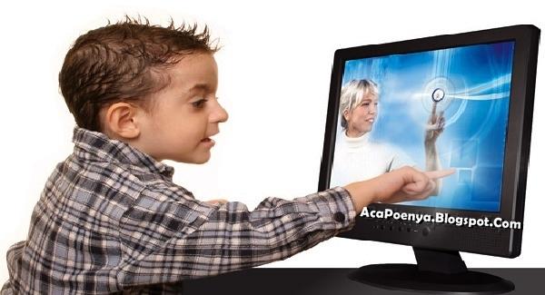 Bahaya Penggunaan Touchscreen Pada Anak-anak
