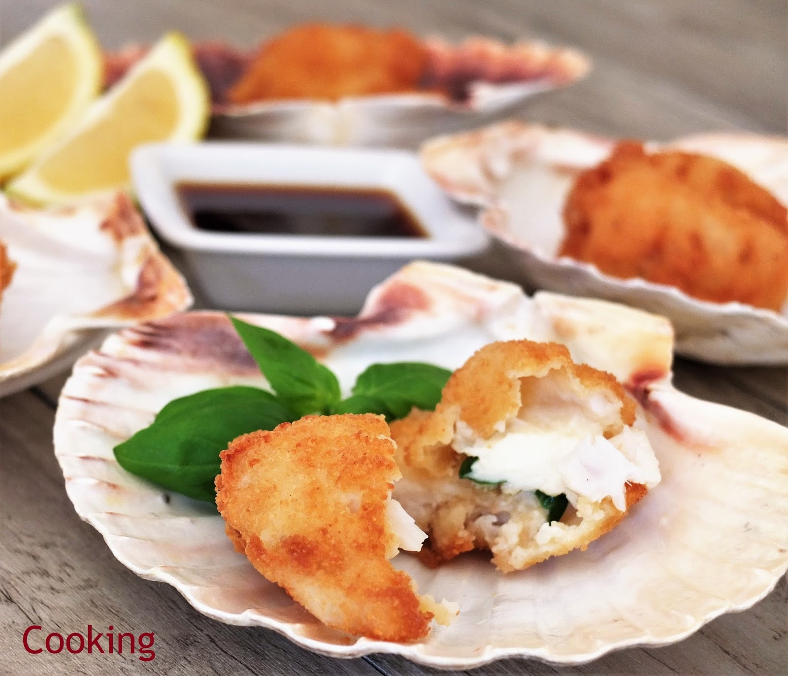 Scallops with mozzarella and ponzu sauce let cool remove konbu and store in refrigerator it can be used for a week fandeluxe Choice Image