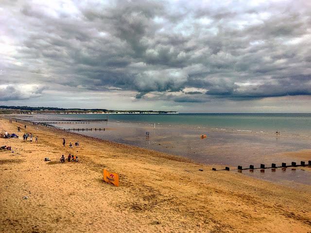 bridlington, beach, yorkshire, travel