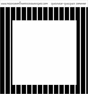 Etiquetas para Imprimir Gratis de Rayas en Blanco y Negro.