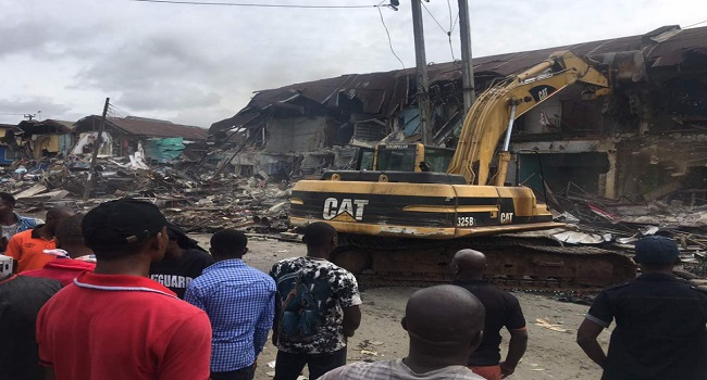 Five stabbed as clash continues over Owerri market demolition
