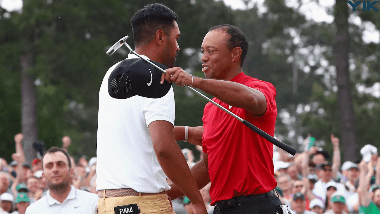 Even his opponents watched in wonder as Tiger Woods won at Augusta