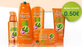 Logo Fructis Addio Danni: un buono sconto per chi non è stato selezionato come tester