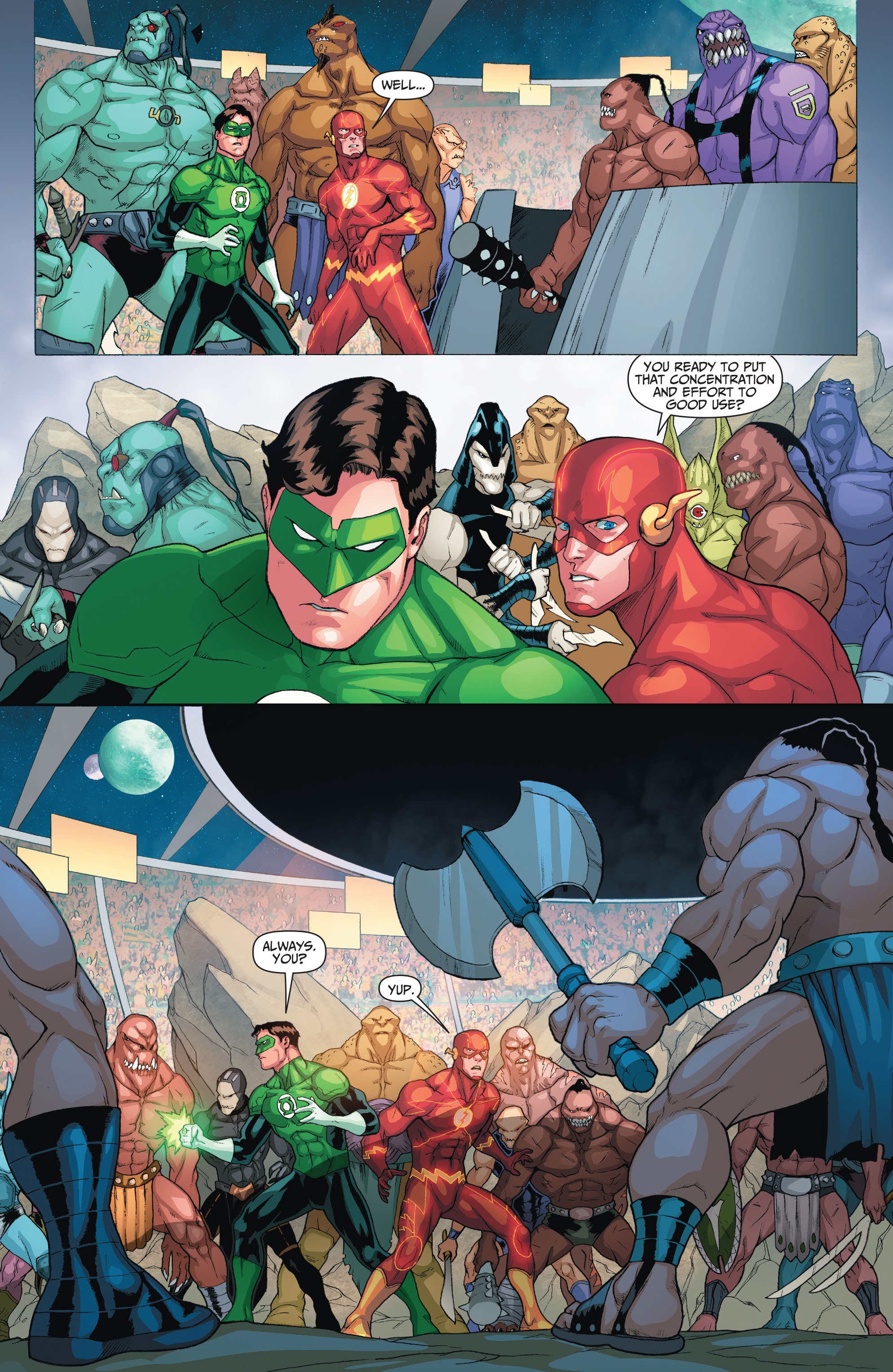 Read online The Flash (2011) comic -  Issue # Annual 2 - 19