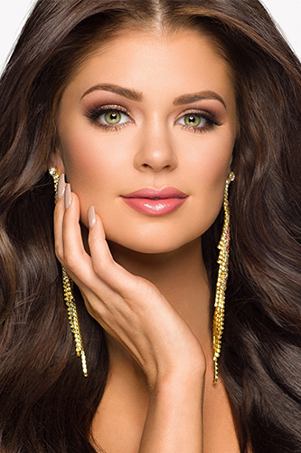 Miss USA 2018 Candidates Contestants Delegates South Dakota Madison Nipe